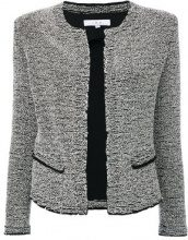 Iro - Giacca in tweed - women - Cotton/Viscose/Polyester/Spandex/Elastane - 38 - BLACK