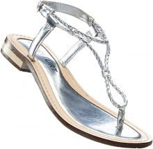Sandalo in pelle (Grigio) - BODYFLIRT
