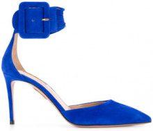Aquazzura - Casablanca pumps - women - Suede/Leather - 35.5, 36.5, 37, 39 - BLUE