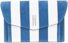 Hayward - Bobby clutch - women - Calf Leather/Calf Suede - OS - BLUE