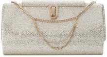 Jimmy Choo - Clutch 'Cay' - women - Leather/PVC - OS - METALLIC