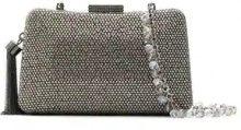 Serpui - embellished clutch - women - Polyester - OS - Grigio
