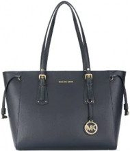 Michael Michael Kors - Voyager tote - women - Leather - One Size - BLUE