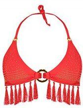 Melbourne misto & Partita Top Bikini a triangolo con borchie