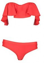 Bali Ruffle Bandeau Bikini