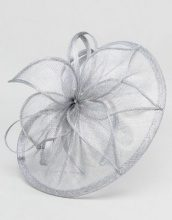 Elegance - Veletta con perle - Argento
