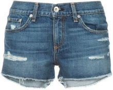 Rag & Bone /Jean - skinny-fit denim shorts - women - Cotton - 24, 25, 26, 27, 28, 29 - BLUE