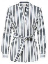 SELECTED Striped - Shirt Women White