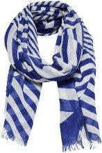 ONLY Printed Scarf Women Blue