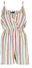 Rebecca Multi Stripe Playsuit
