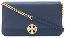 Tory Burch - Chelsea convertible clutch - women - Leather - One Size - BLUE
