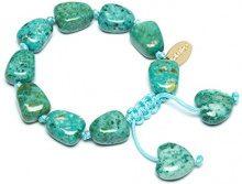 FASHIONNECKLACEBRACELETANKLET, colore: green, cod. HANNAH368000