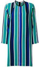 MSGM - Vestito con motivo a strisce - women - Silk - 38, 40, 42 - MULTICOLOUR