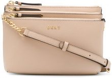 DKNY - Borsa a tracolla 'Sutton' - women - Leather - OS - NUDE & NEUTRALS