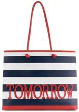 Alberta Ferretti - Borsa Tote 'Tomorrow' - women - Leather - OS - BLUE