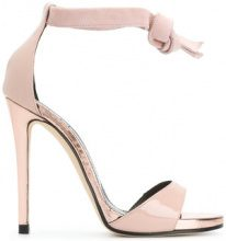 Marc Ellis - tie strap sandals - women - Leather - 36, 38, 39, 40 - PINK & PURPLE