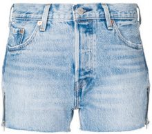 Levi's - Shorts in denim - women - Cotton - 25, 26, 27, 28, 29, 30, 32 - BLUE