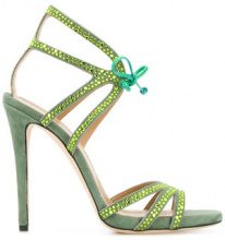 Marc Ellis - high heel sandals - women - Leather - 36, 37, 38, 39, 40 - GREEN