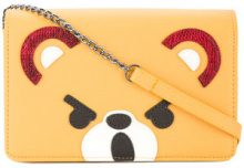 Hysteric Glamour - Mini borsa 'Hysteric Bear' - women - Artificial Leather - OS - YELLOW & ORANGE