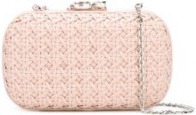 Corto Moltedo - Clutch 'Susan C Star' - women - Nappa Leather - One Size - PINK & PURPLE