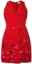 MSGM - Vestito decorato - women - Polyester/Spandex/Elastane/Viscose - 42, 44, 40 - Rosso