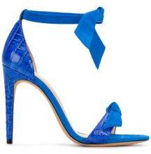 Alexandre Birman - Sandali con cinturino alla caviglia - women - Leather - 40, 36, 36.5, 37, 37.5, 38, 38.5, 39, 41 - BLUE