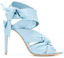 Alexandre Birman - Sandali 'Maleah Freeze' - women - Leather - 35, 36, 37, 36.5, 37.5, 38 - Blu