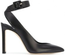 Jimmy Choo - Lou 100 pumps - women - Calf Leather/Leather - 35, 37, 38, 40 - BLACK