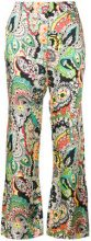 Paul & Joe - Pantaloni con stampa floreale - women - Viscose - 36, 38, 40, 42 - MULTICOLOUR