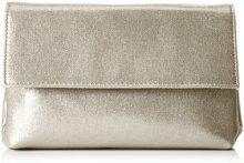 MENBUR Abetone - Pochette da giorno Donna, Gold, 5x14x22 cm (B x H T)