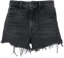 Alexander Wang - Shorts denim - women - Cotone - 26, 28, 29 - GREY