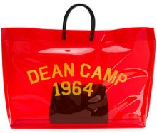 Dsquared2 - Dean Camp shopper - women - PVC - One Size - RED