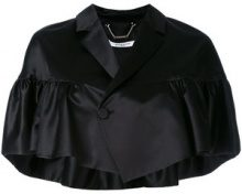 Givenchy - Giacca a mantella - women - Silk/Viscose - 38 - Nero