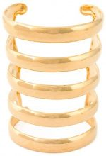 Aurelie Bidermann - Bracciale rigido 'Esteban' - women - Gold Plated Brass - One Size - Metallizzato
