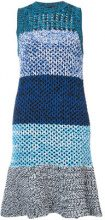 Derek Lam 10 Crosby - Sleeveless Colorblocked Gradient Knit Dress - women - Cotone/Polyamide - S, M, L, XS - Blu