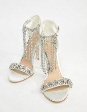 ASOS - HONOR - Sandali premium da sposa con tacco decorati