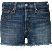 Levi's - '501' shorts - women - Cotone - 32 - BLUE