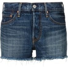 Levi's - '501' shorts - women - Cotton - 27, 28, 29, 31, 32 - BLUE