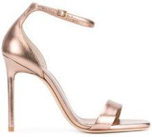 Saint Laurent - Amber ankle strap 105 sandals - women - Leather/Patent Leather - 36, 37.5, 38.5, 40 - PINK & PURPLE