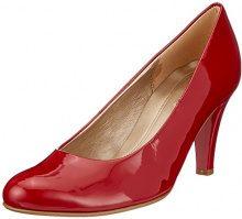 Gabor Shoes Basic, Scarpe con Tacco Donna, Rosso (Cherry), 40.5 EU