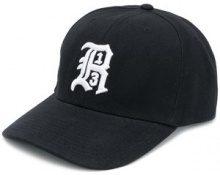 R13 - Cappello da baseball con logo ricamato - women - Acrylic - OS - BLACK