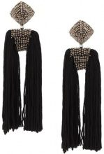 Sachin & Babi - Dupio earrings - women - Silk - OS - BLACK