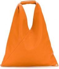 Mm6 Maison Margiela - Borsa hobo - women - Calf Leather/Polyester - OS - Giallo & arancio