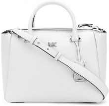 Michael Michael Kors - Borsa a tracolla 'Nolita' - women - Leather - OS - WHITE