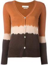- Isabel Marant Étoile - tie - dye cardigan - women - cotone/cashmere - 36, 38 - color marrone