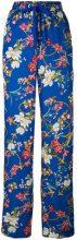 Pinko - Pantaloni 'Magro' - women - Polyester/Acetate - 46 - BLUE