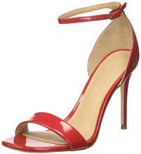 Guess Footwear Dress Sandal, Scarpe con Cinturino Alla Caviglia Donna, Rosso (Medium Red), 39 EU