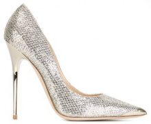 Jimmy Choo - Pumps 'Anouk' - women - Leather - 36.5, 37, 38.5, 40 - NUDE & NEUTRALS
