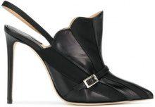 Racine Carree - Pumps con pannelli a contrasto - women - Leather - 35.5, 36, 37, 37.5, 38, 39 - Nero