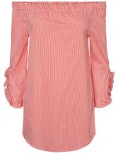 NOISY MAY Off-shoulder Shirt Women Red